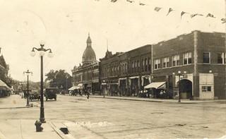 Nevada Iowa 6th Street 6th K Looking South 1914 Palac Flickr