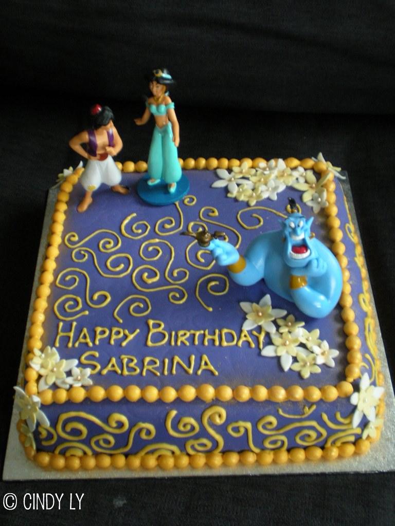 Miraculous Princess Jasmine Birthday Cake Chocolate Cake W Chocolate Flickr Personalised Birthday Cards Petedlily Jamesorg