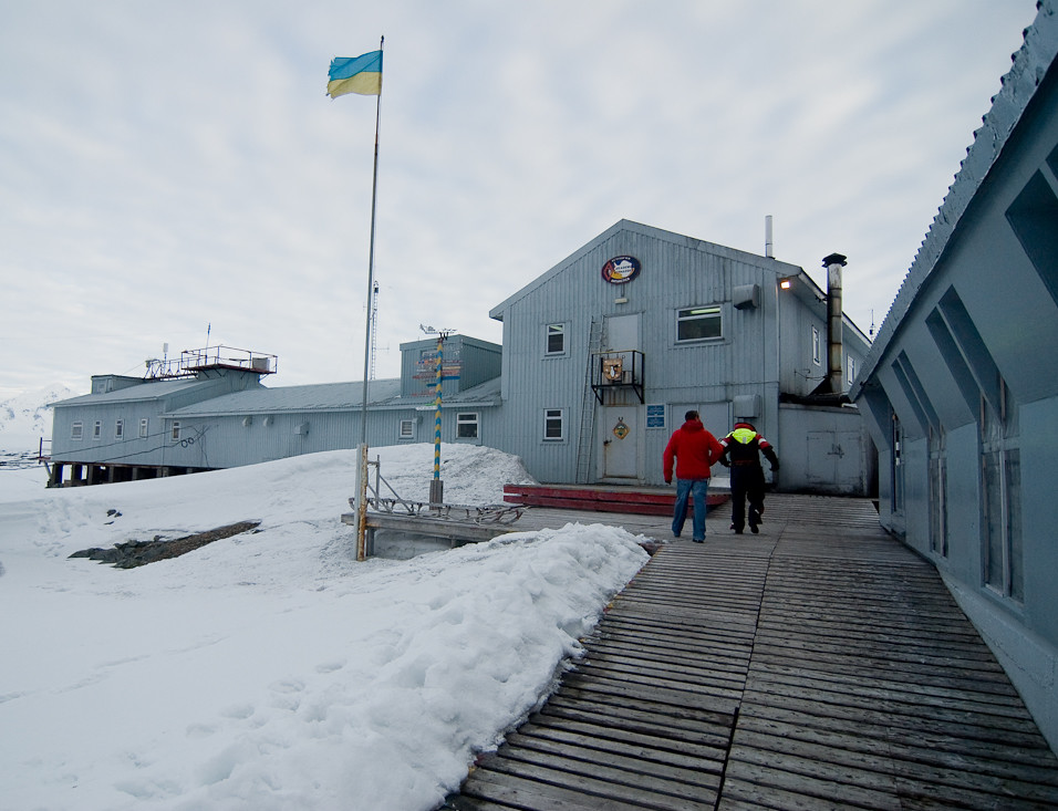 Entering Vernadsky