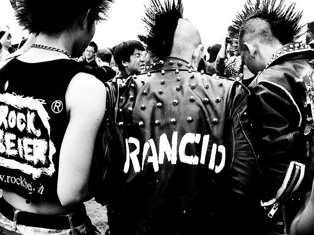 Old-school Punks | I shot this pic 2 years ago on Midi Music… | Flickr