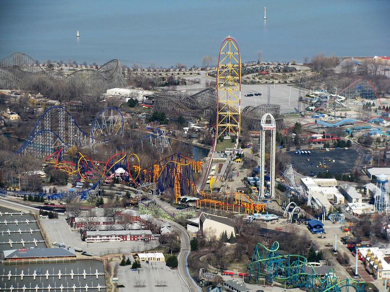 Cedar Point Aerial