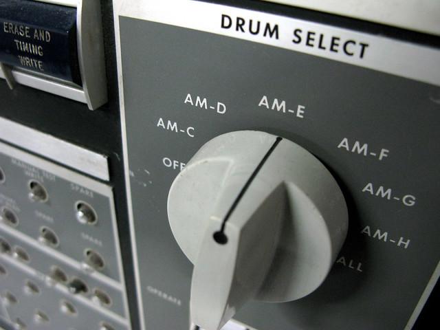 The first drum machine