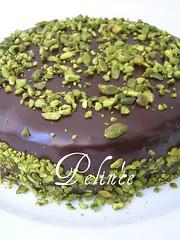 Çikolata Soslu Mozaik Pasta   by pelince.com