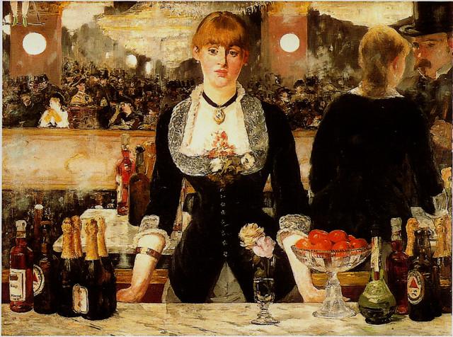 Impressionist Artist- Manet. USED POSTCARD
