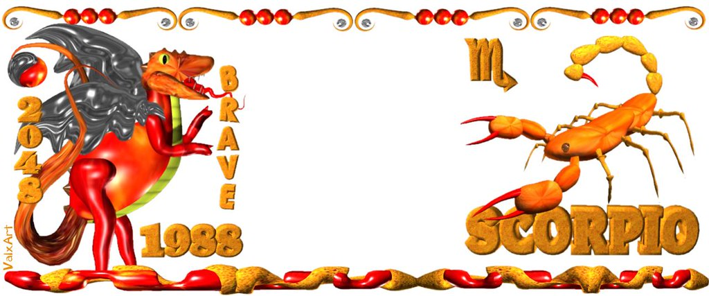 Valxart 1988 2048 Scorpio Earth Dragon chinese zodiac peop
