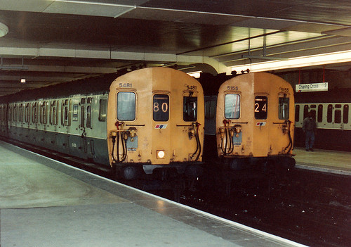 415481 and 415155, Charing Cross (31 Mar 1991) | by Daniel H Wright