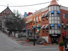 Mount Adams Street Corner   by cincyproject