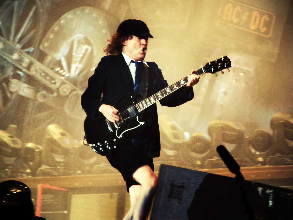 photo Angus Young