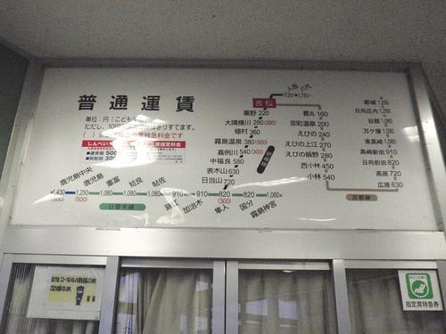 Yoshimatsu Station, Kagoshima | by Kzaral