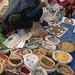 Bolivia - Sucre - Tarabuco Market - Herbs Lady