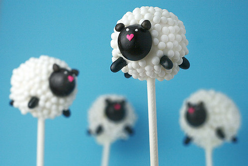Sheep Cake Pops | by Bakerella