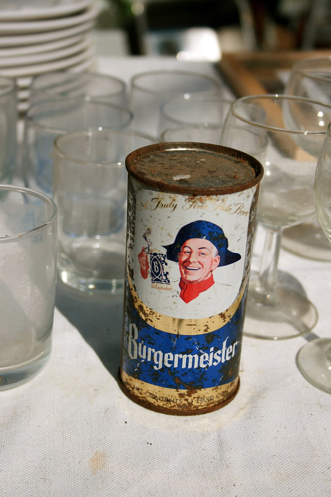 Burgermeister Beer Can Www Unnecessaryumlaut Com P 764 Flickr