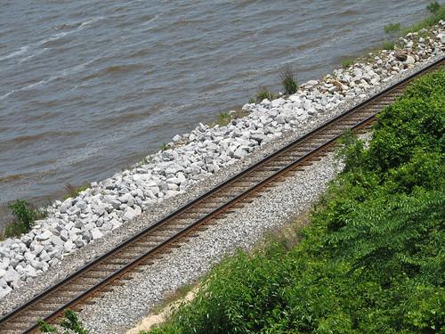 county railroad train florida tracks pensacola escambia
