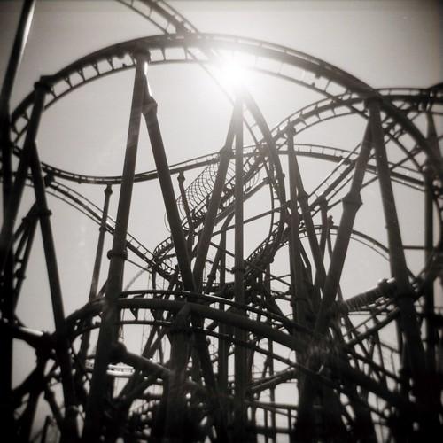 120 film blackwhite holga ride maryland scan negative amusementpark rollercoaster sixflags largo sixflagsamerica favorites5 views100 views200 views25 haphazartentanglements