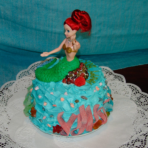 Ariel Birthday cake | by Makz