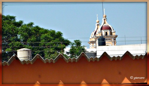 Cholula,Pue.México, Vista desde el