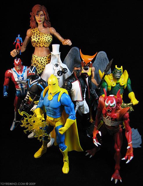 DC Universe Classics Wave 8 Giganta Series Hawkgirl Dr Fate Mr Terrific Steel