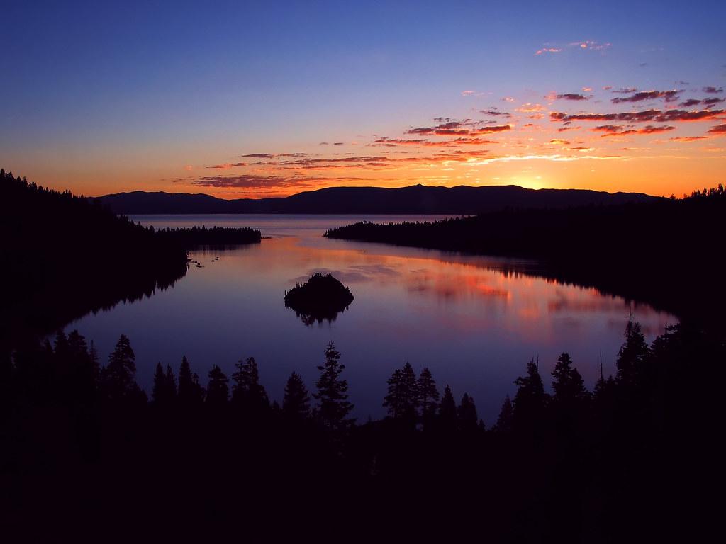Emerald Bay, Lake Tahoe Sunrise