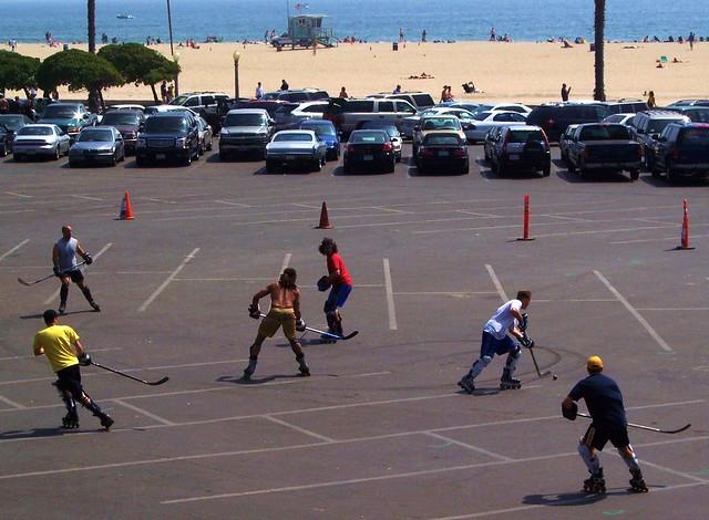 The Teenies Play Lot Hockey