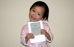 Sally with her Kindle 2 | by John Chow dot Com