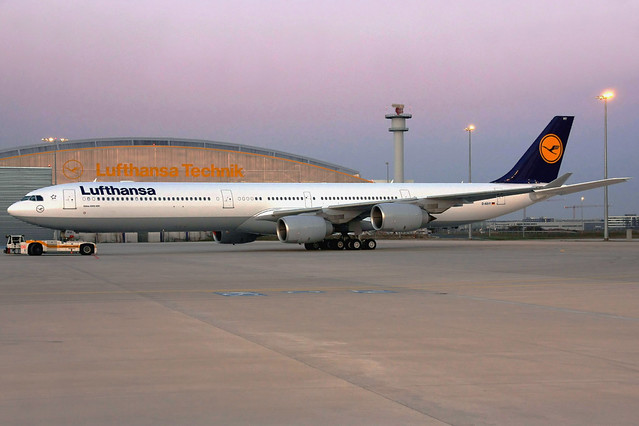 Lufthansa Airbus A340-642HGW D-AIHY FRA 31-03-09