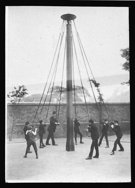 Merry-go-round (Manning Lantern Slide: 404)