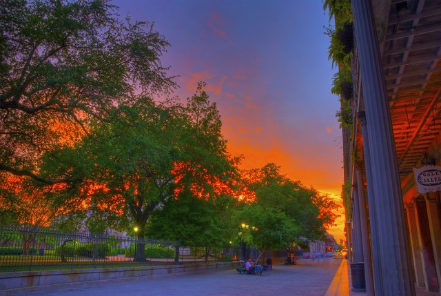Fire in the Sky | HDR