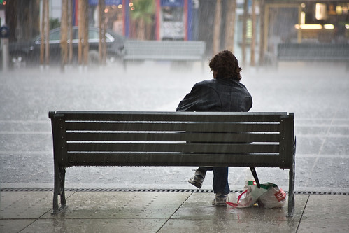 Sitting in the Rain | by Markus Ortner