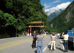 Jockeying for a Shot, Taroko National Park Gate | by adventurocity