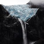 Black rock, Blue ice.
