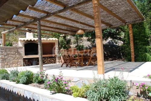 Casa De Campo Ibicenca Terraza Estupenda Casa Típica De