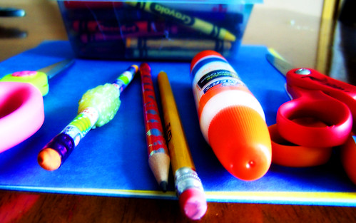 kids arts and crafts tools | by Carissa GoodNCrazy