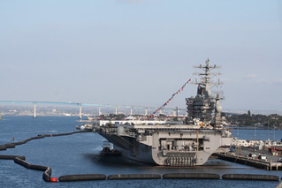 USS Nimitz - Aft | by Miss Shari