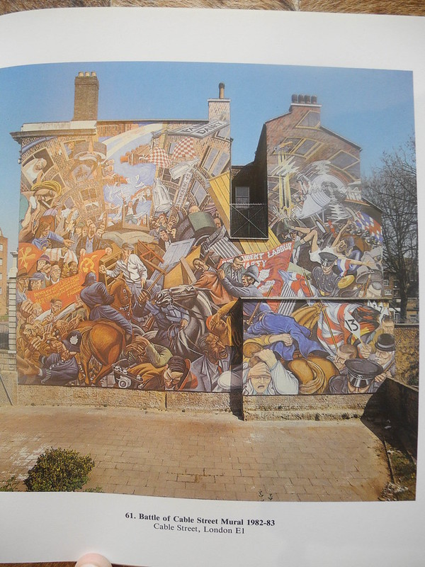 Battle of Cable Steet Mural 1982-1983 version 2