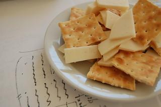 cheese and crackers   by mathiasbaert