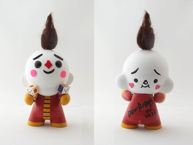 Custom Mini Munny by DEVILROBOTS