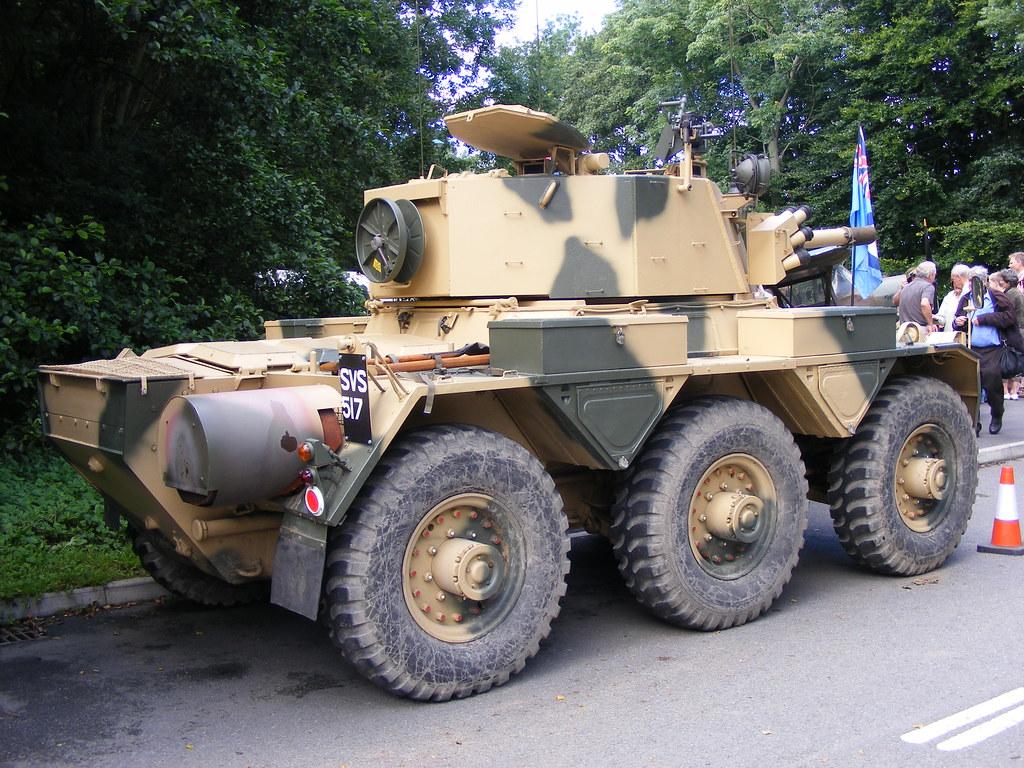 Alvis Saladin Armoured Car: SVS517 Durham Light Infantry M