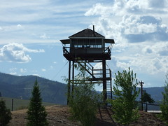 Relocated fire lookout