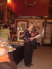 Donna teaches astrology with orb helper