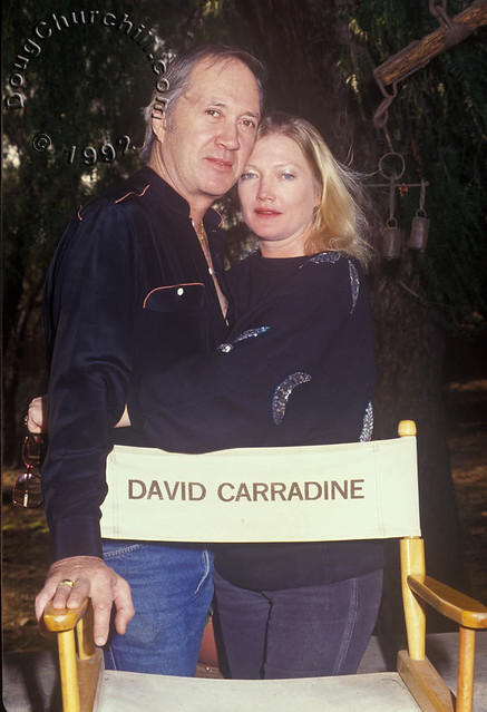 David Carradine and Gail Jensen