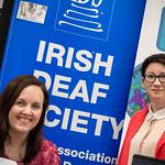 Irish Deaf Society at the Language Fair