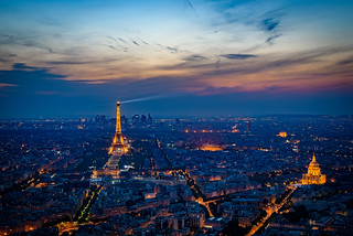 Eiffel Tower Sunset | by Mustang Joe
