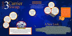 This infographic shows a development timeline for a three carrier crew swap between USS Ronald Reagan (CVN 76), USS George Washington (CVN 73) and USS Theodore Roosevelt (CVN 71). (U.S. Navy/MC2 Stephanie Smith)