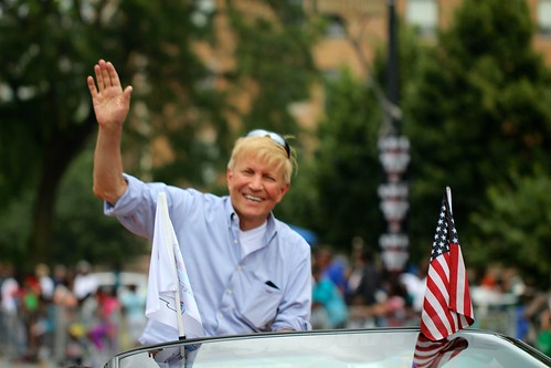 2nd Ward Committeeman Bob Fioretti at the Bud Billiken Parade 2015 | by danxoneil