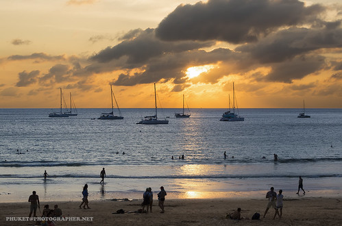 Sunset with yachts. Phuket | by Phuketian.S