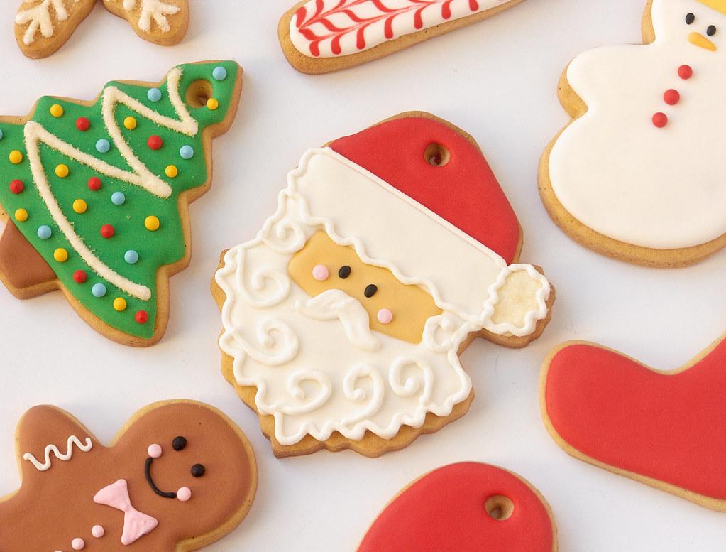Santa Claus Cookies Ifeelcook Es Christmas Cookies Ifeelcook