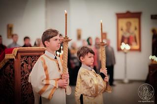 Литургия в Спасском соборе 240