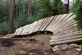Wall Ride, Special K, Hamsterley Forest | by Dagza