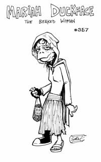 #357 - Mariah Duckface, the Beaked Woman