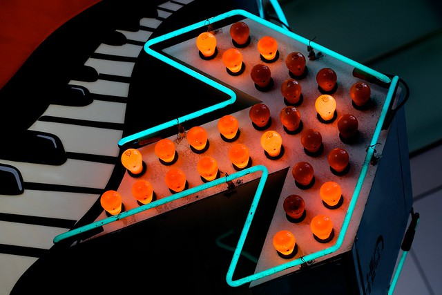 Pretty Flashing Orange Lights